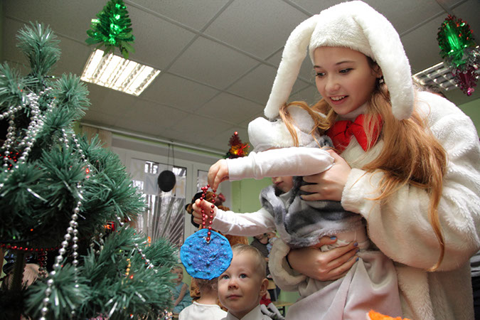 Фотодневник. Новогодний праздник в Знайке в Бирюлево Восточном
