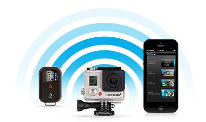 Фотодневник. Управление экшн-камерой GoPro Hero 3+ по WiFi