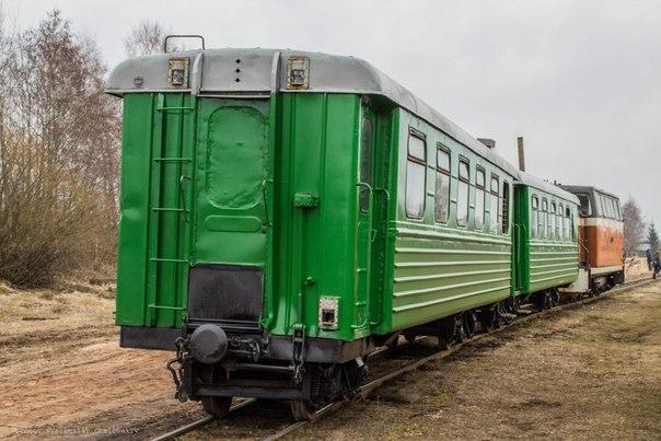 Фотодневник. Пассажирский вагон ПВ-40
