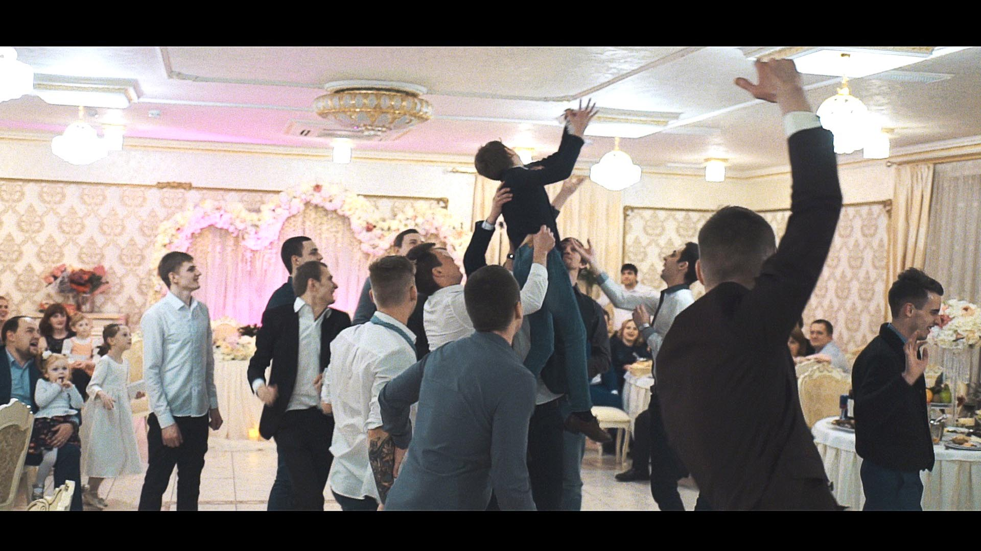 Таня и Олег фрагмент свадебного фильма